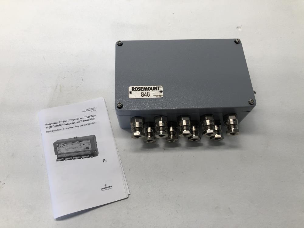 Rosemount 848T Fieldbus High Density Temperature Transmitter 848TFI5S001T1JA2